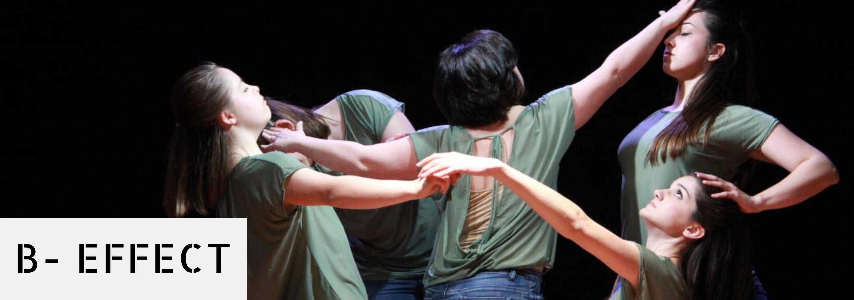 Le 5 danzatrici di B-effect in posa